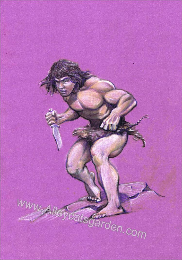 Tarzan by Frazetta by Alleycatsgarden