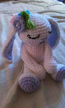 Crochet sleepy bunny