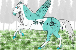 Snowflake Surprise by DiamondHorses