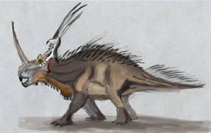 Styracosaurus Study by ChameleonBrain