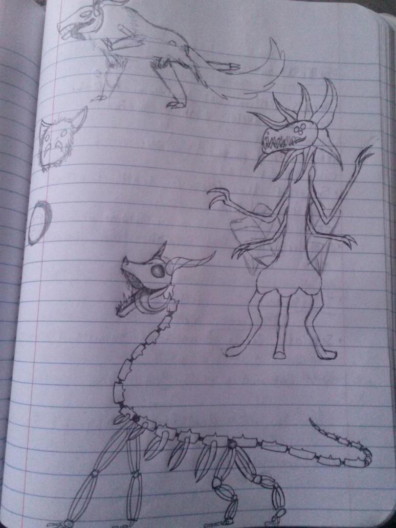 Random doodles n' stuff by Aerus87