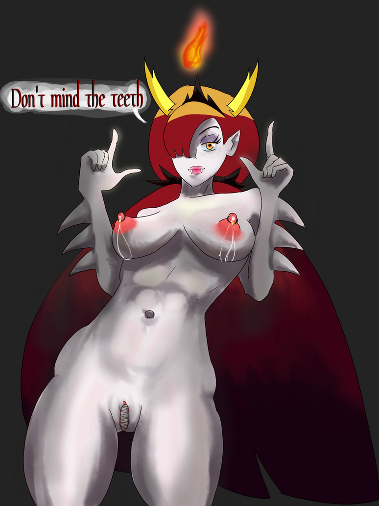 Hekapoo the snatch with teeth by Lingerie-Thief
