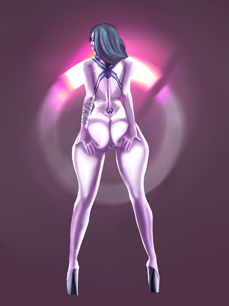 Widow butt by Lingerie-Thief