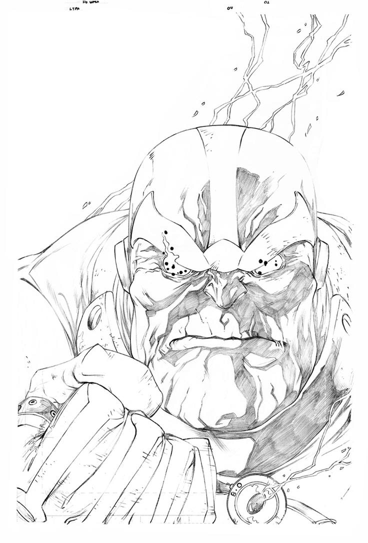 Thanos Coloring Sheet Coloring Pages