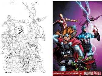 Avengers Vs Pet Avenger 01 by igbarros