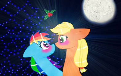 Appledash - Christmas by AmatourArtist