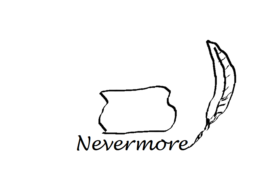 nevermore tat concept by Anovoca