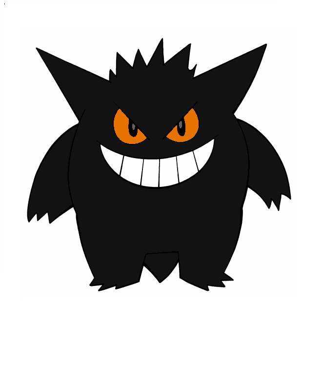 Shiny Halloween Gengar by CombustionLadyPLi21