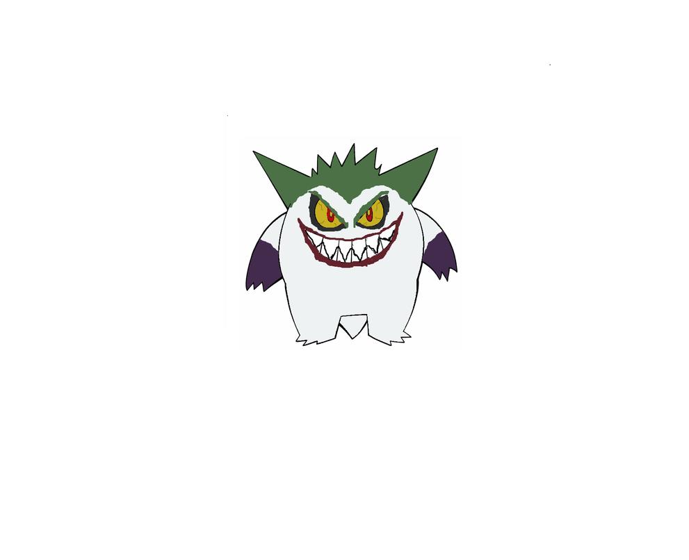 Joker Gengar by CombustionLadyPLi21