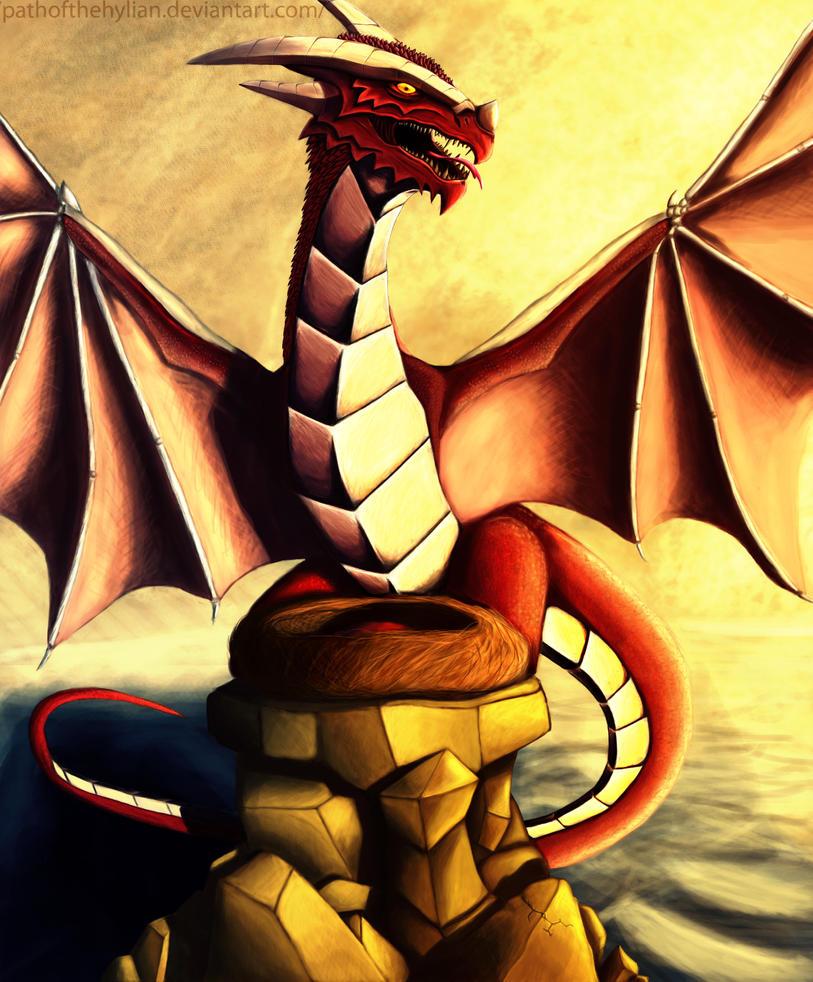 Dragon of the Loving Sun by PathOfTheHylian