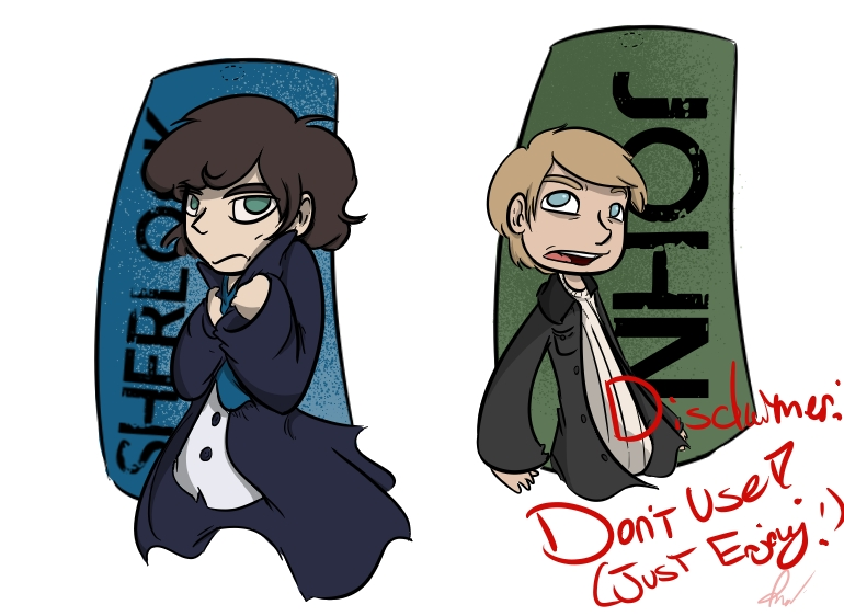 Sherlock Charms by LiltingMoone
