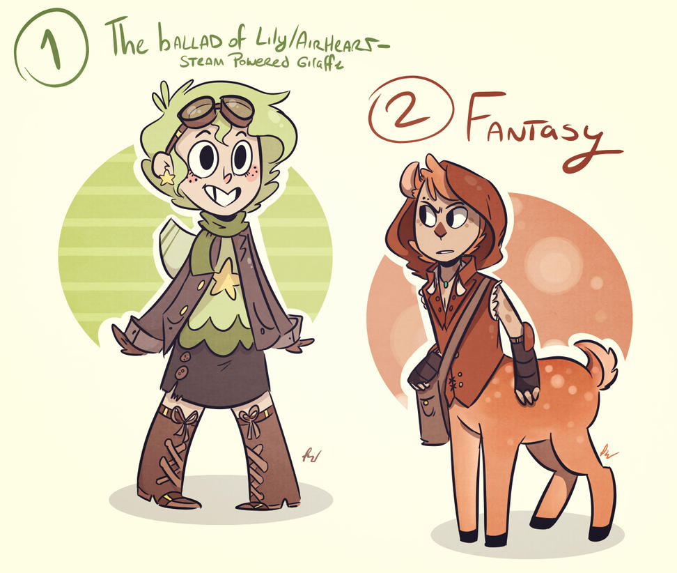 Beliebt 30 Day Character Design Challenge: 1 and 2 by LiltingMoone on  PN84