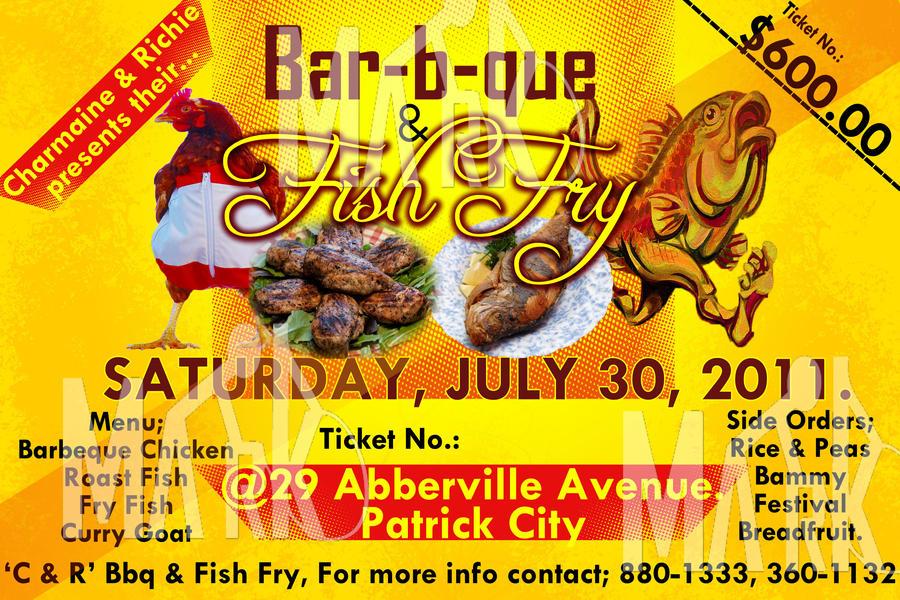 fish fry flyers
