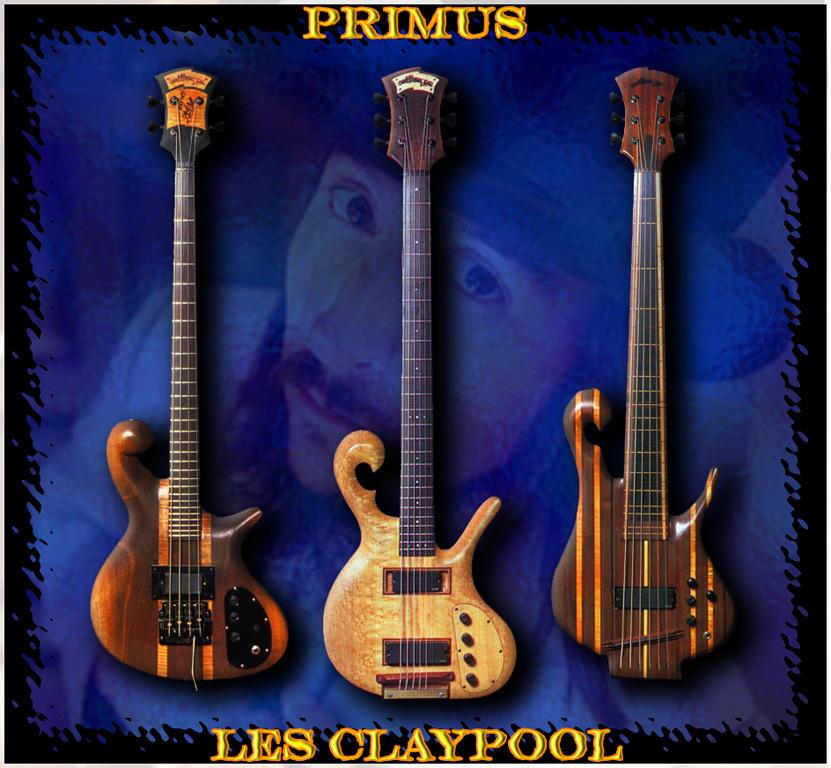 Les claypool bass
