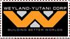 =WEYLAND YUTANI CORP= stamp by TRADT-PRODUCTION
