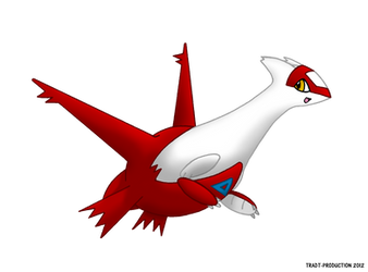 Latias by TRADT-PRODUCTION