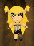 AT - Cyberpunk Sphinx girl chibi doll by TRADT-PRODUCTION