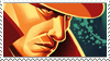 Booker DeWitt private investigator Stamp by TRADT-PRODUCTION