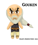 Gouken Chibi doll by TRADT-PRODUCTION