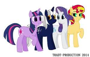 PC - Group of ponies by TRADT-PRODUCTION