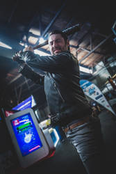 Negan cosplay 3 (we're just getting started) by TRADT-PRODUCTION