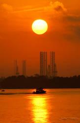 Dawn of an industrial age by kanekoichi