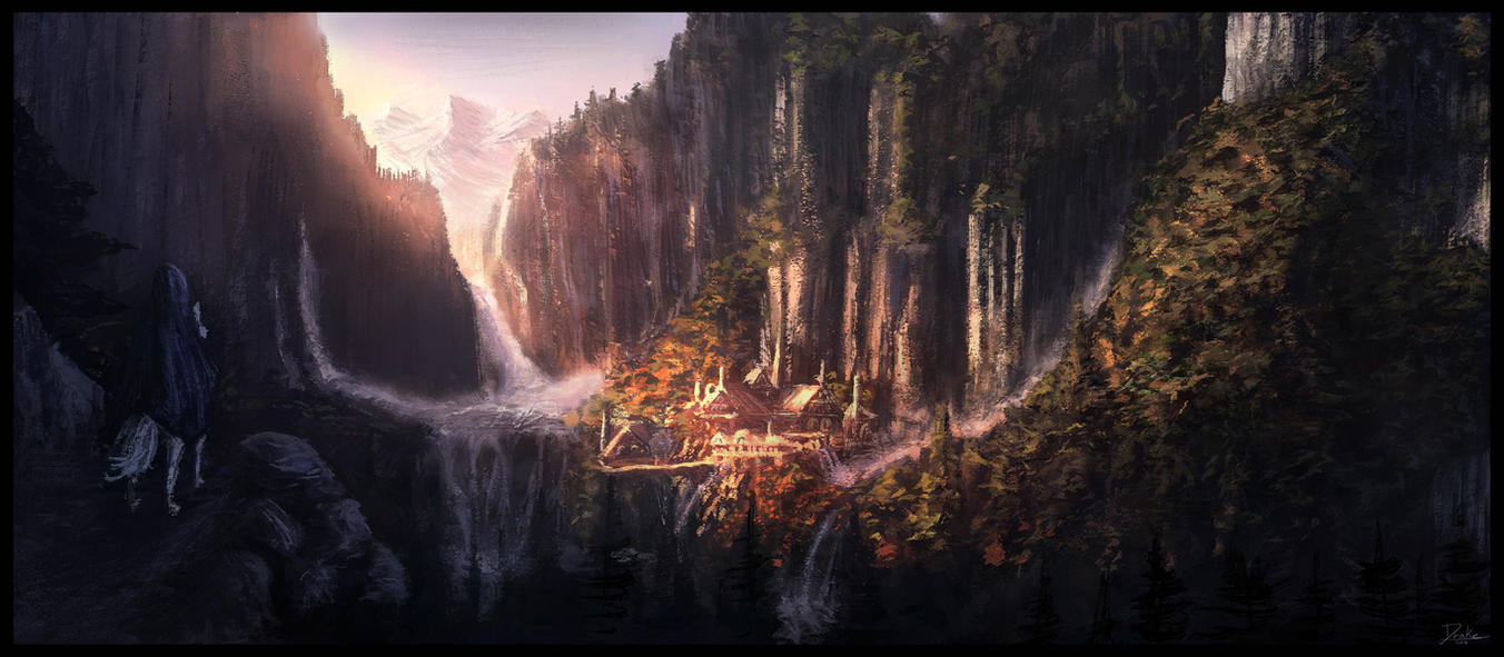 rivendell wallpaper-#34