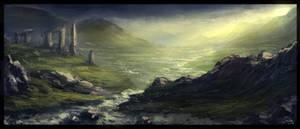 Scottish Landscape Speed Painting