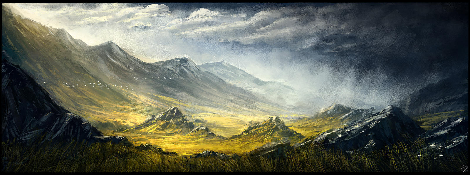 ENvironment Painting - A Flair of New Zealand