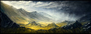 ENvironment Painting - A Flair of New Zealand by ChrisDrake1987