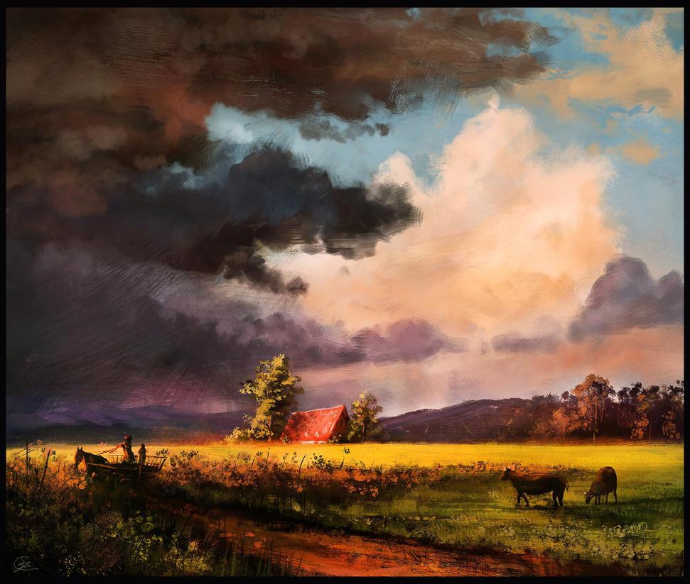 Bierstadt study by ChrisDrake1987