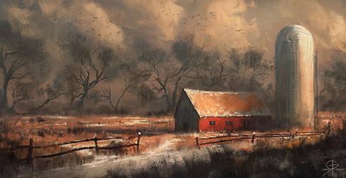 Barn Illustration 01 by ChrisDrake1987