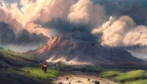 Procreate - The Long Ride by ChrisDrake1987