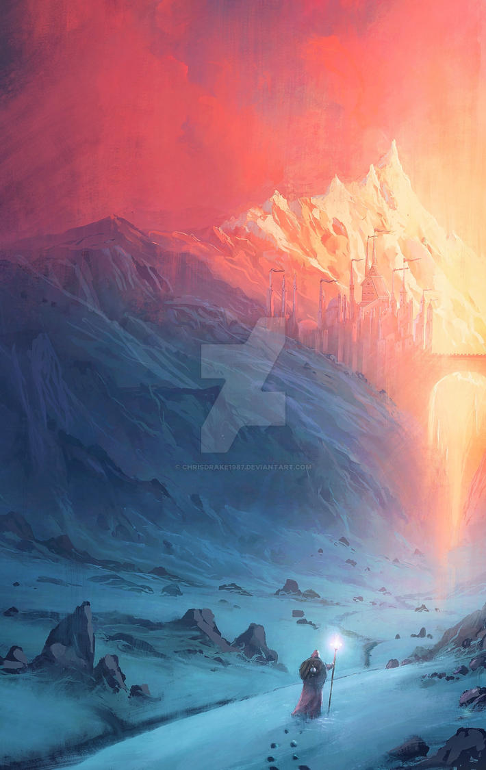 Through ice and fire by ChrisDrake1987