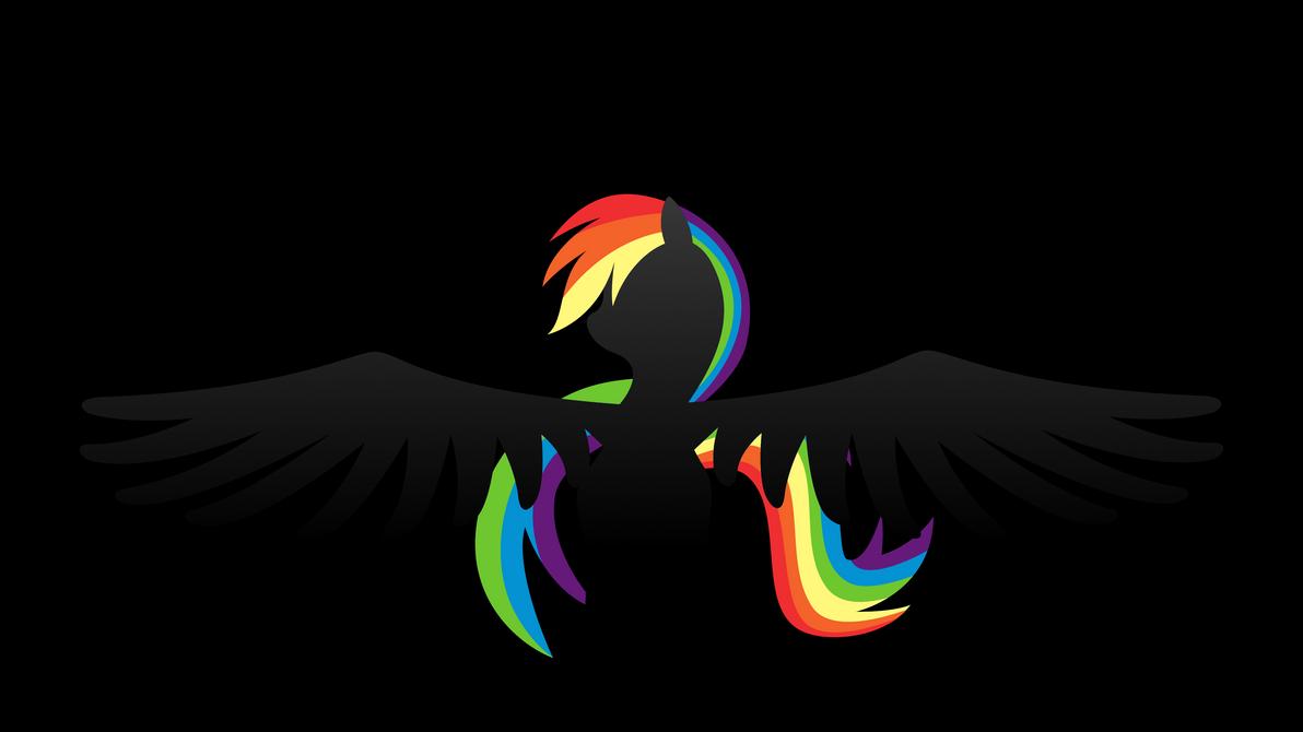 Rainbow Dash Wallpaper by klaxa on DeviantArt