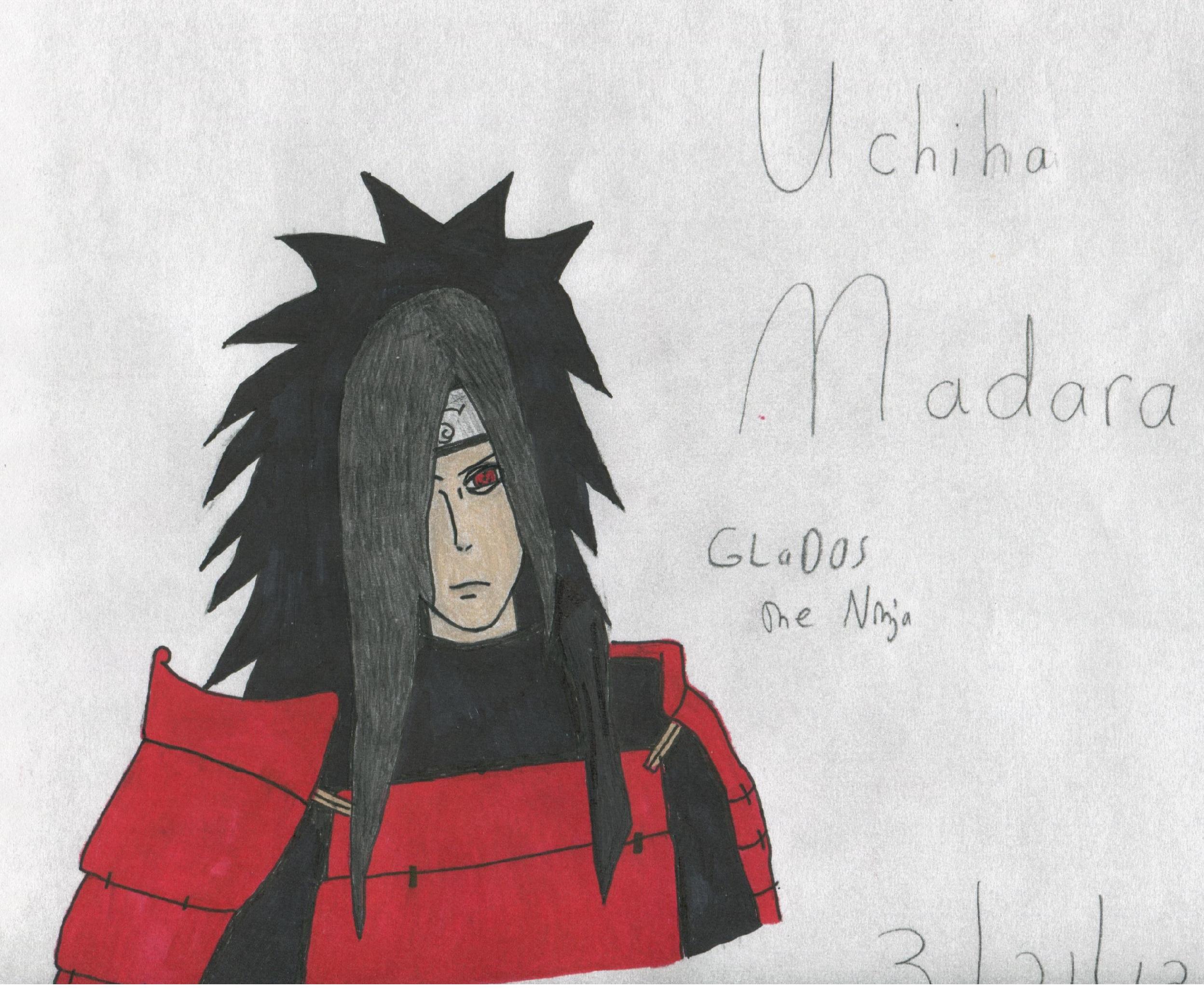 Uchiha Madara by PlethoraFantastique