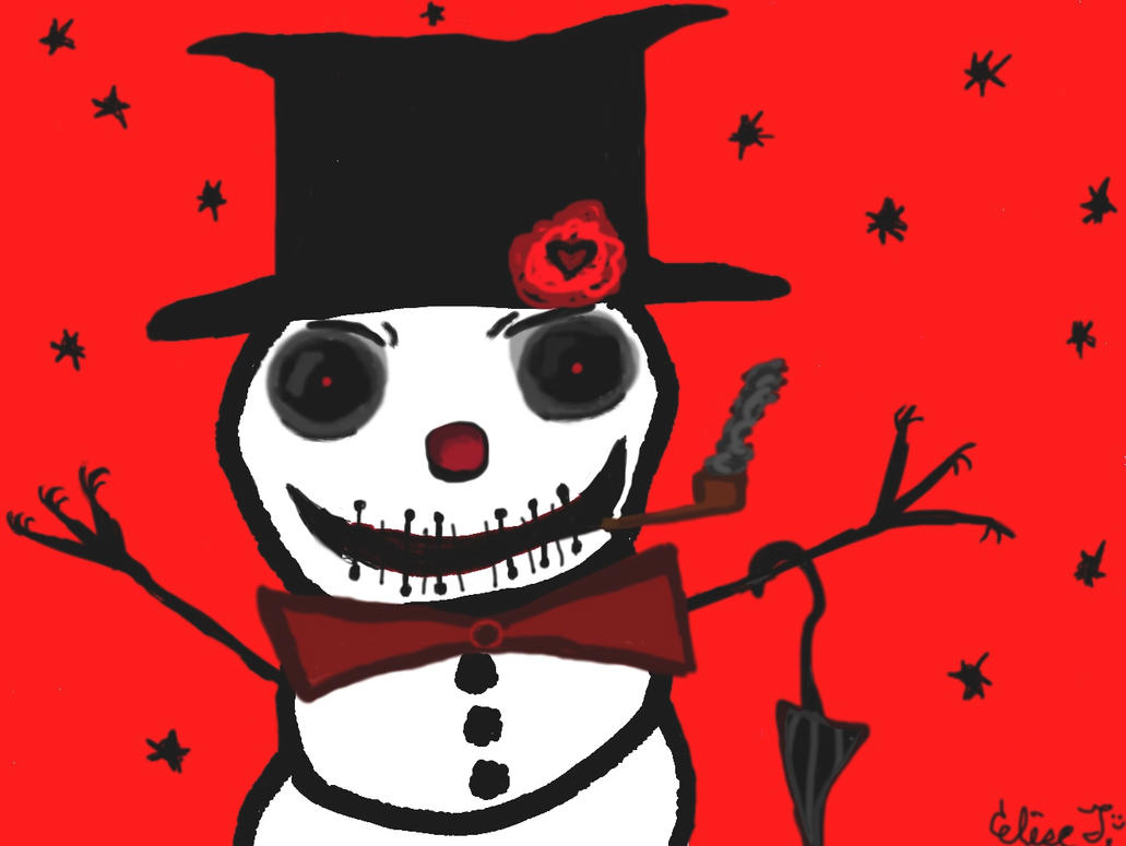 Snowman by PlethoraFantastique