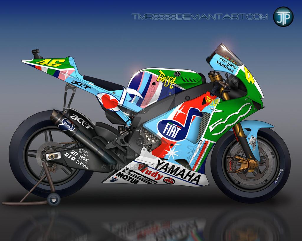Valentino Rossi 2007 Yamaha M1 By Tmr5555 On DeviantArt