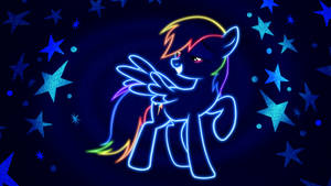Coolness - Rainbow Dash Wallpaper