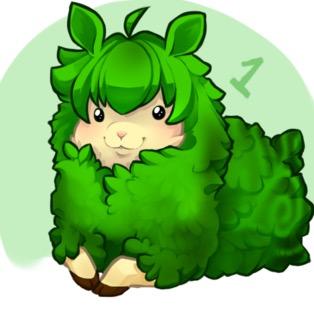 Emerald the sheep by lilkairi15