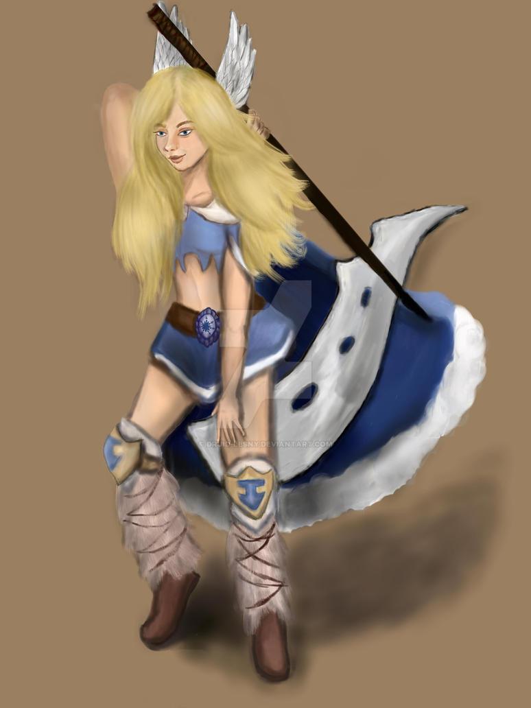 Walkiria by Druid-Lesny