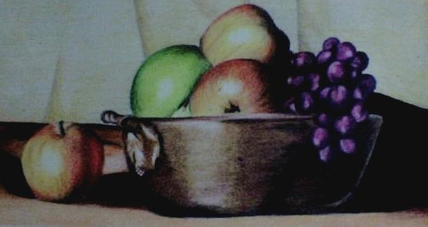 Como dibujar un frutas a lapiz - Imagui