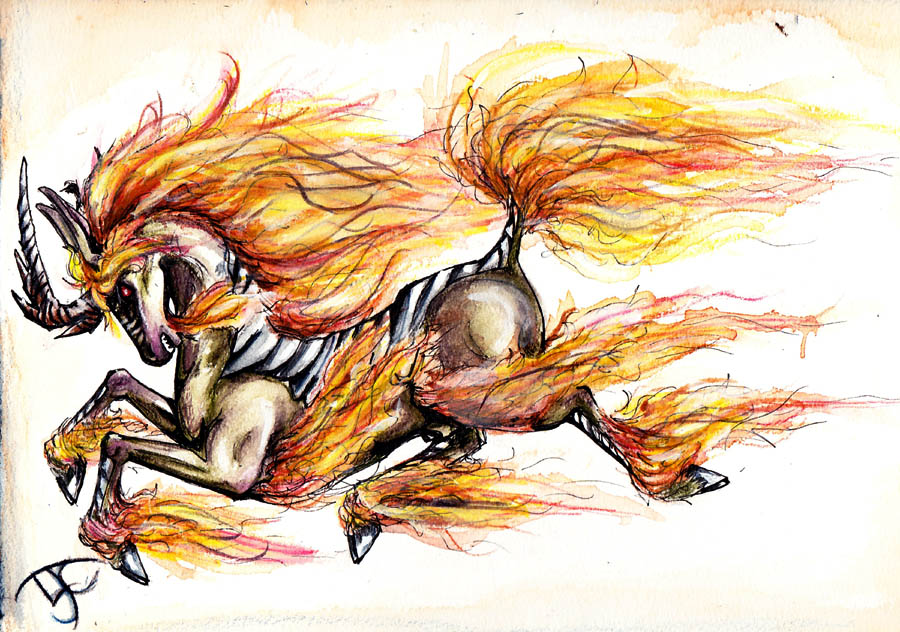 FLAME ON by ZombiePixie