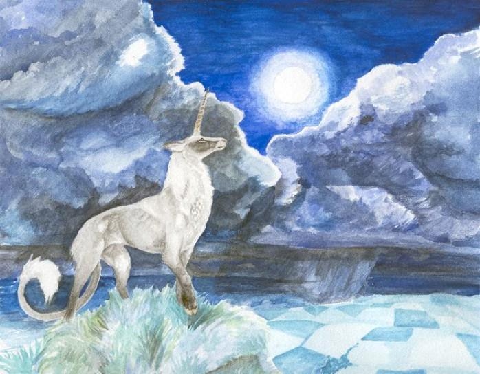 Los Unicornios de Strom Lho, por Erin M. Schmidt
