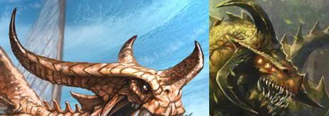 cuernos de dragones-cangrejo y de demonios d'aome
