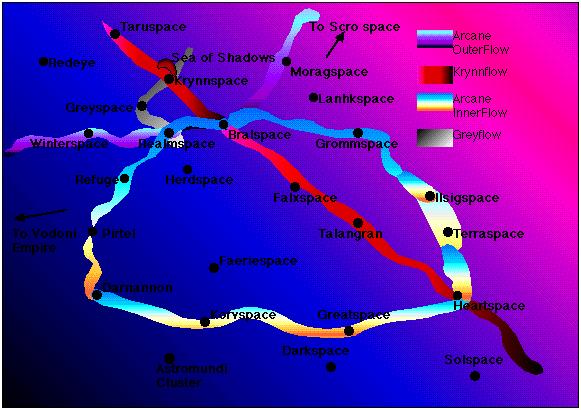 Ríos de Flujos en el Salvajespacio, por Paul Westermeyer