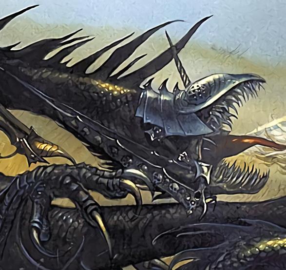 Bestia Alada o Bestia Cruel por John Howe