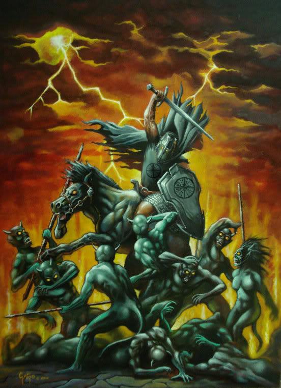 Los Caballeros del Mal de Tychi, por Roberto Gaito