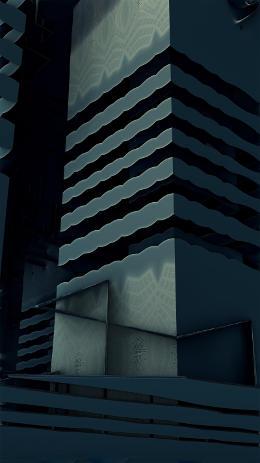 Los Rascacielos Fractales por Jakeukalane
