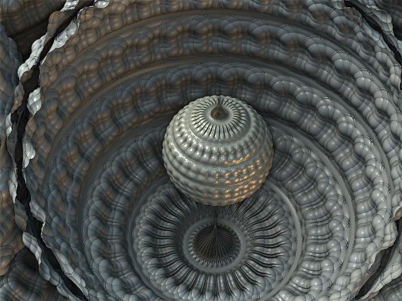 Refugio fractal, por Jakeukalane